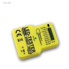 LED-Tester LEDs Funktion Helligkeit testen, KEMO LEDtester Leuchtdioden-Prüfer