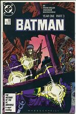Batman Year One Part 3 #406 (Grade 9.0) WH