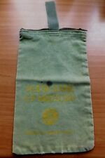 VINTAGE BANK BAG STATE BANK OF MEDFORD WISCONSIN MALCHOW'S GROCERY STORE