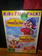 An American Tail / An American Tail: Fievel Goes West (2-Disc, DVD) No Book