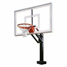 First Team HydroChamp Select Swimming Pool Basketball Hoop with 60 Inch Acrylic