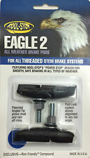 Kool Stop Eagle 2 Brake Pads Black - Sold In Pairs