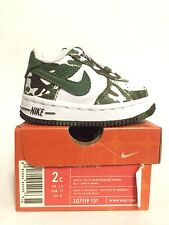 Brand New Nike Force 1 (TD) Toddler Baby Camo 2c