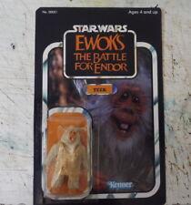 Card EWOKS Teek star wars vintage 1985 Custom kenner Style The Battle for Endor
