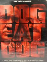 Dog Eat Dog DVD 2015 Nicolas Cage Willem Dafoe New Factory Sealed Slipcover