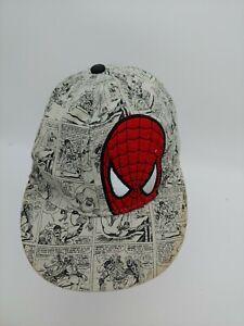 Marvel Ultimate Spiderman Comic Strip Baseball  Adjustable Cap Hat