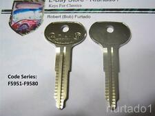 Key Blank for Vintage Toyota 1969-81  Primary Key  (TA21)  See Code Series