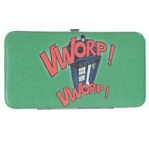 Doctor Who Tardis Vworp! Vworp! Green Hinge Wallet Rare New With Tags!