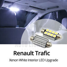 2x Renault Trafic 8 SMD Interior LED Light Bulb Upgrade Canbus Error Free