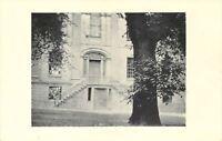 Albany New York~Academy~Joseph Henry Memorial~1940s B&W Postcard