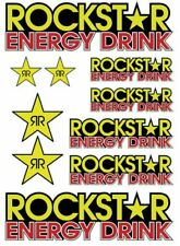 RC Rockstar Energy stickers decals 1/18