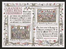 2013 Bloc N° 4828 LES GRANDES HEURES DE L'HISTOIRE  NEUF**LUXE
