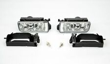FOG LIGHTS CRYSTAL GLASSES BMW 3 SERIES E36 SALOON ESTATE COUPE LIGHT PAIR BULBS