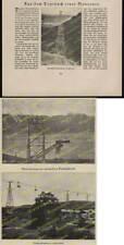 Bleichert & Co Leipzig Drahtseilbahn Maschinenbau China Argentinien Technik 1925