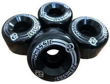 Kryptonics Classic 70mm 78A Longboard Cruiser Wheels Rollen Downhill bomb black