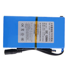 DC12V 9800mAh Super Rechargeable Portable Li-ion Battery Battery Pack EW