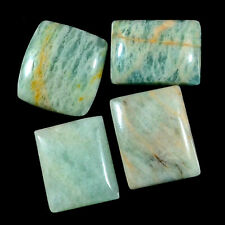 21.30 Ctw LOT Amazonite Cushion Pendant Bead Cabochon Natural Gemstone Undrill