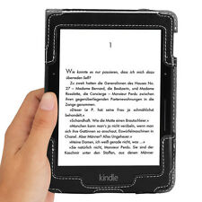 Poetic SlimBook【PU Leather】Smart Case Cover Stand For Amazon Kindle Voyage BLK