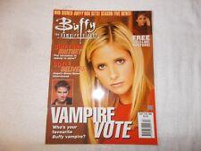 Buffy The Vampire Slayer UK Magazine Issue 13 October 2000 Vampire Vote
