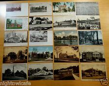 Lot of 20 Antique & Vintage Postcards ALL COLLEGES IN AMHERST, MA Massachusetts