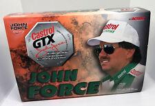 NIB 1999 John Force Castrol GTX 8X Champion 1/24 Scale Diecast Action Funny Car