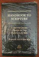Handbook to Scripture:A one-year journey thru 365 key chapters in the Bible: BOA