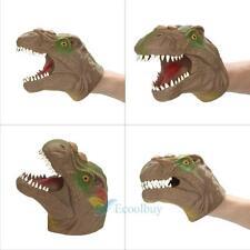 Tyrannosaurus Dinosaur Animal Doll Kids Glove Hand Puppet Toys Story Telling A