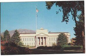 University of Utah Administration Bldg, Salt Lake City, Unused Vintage Postcard
