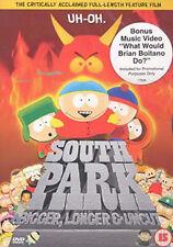 DVD:SOUTH PARK - THE MOVIE - NEW Region 2 UK