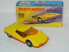 MATCHBOX LESNEY SUPERFAST No33 DATSUN 126X RARE SMOOTH BASE ! VNM IN I1 BOX