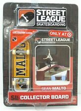Street League Skateboarding Pro Series 1 Yellow Skateboard Sean Malto Card