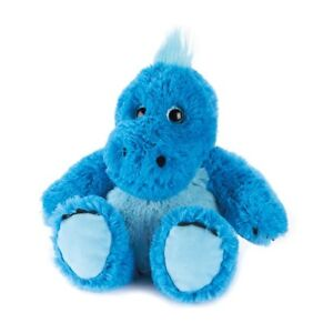 Warmies Microwavable Heatable Blue Dinosaur Plush Scented toy INTELEX Great Gift