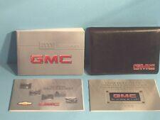 00 2000 GMC Sierra owners manual with Diesel