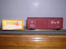 Accurail #3002 Baltimore & Ohio 40' D.D.Box Car #293647 w/Kadees