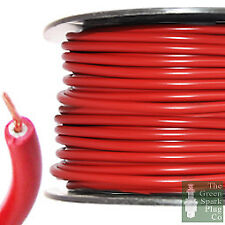 7mm HT Ignition Lead Cable - Copper Core PVC Red