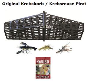 Orig. Pirat Krebskorb Krebskörbe Krebsreuse Krebsreusen Reuse fish trap Haribo