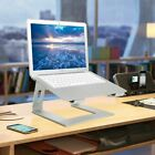 Silver Laptop Stand Ergonomic Aluminum Stand for 10-17'' Notebook(random 2types)