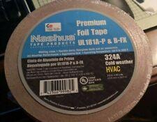 Nashua 324A Premium Foil Tape UL181A-P & B-FX 2.5 In X 60 Yard (63.5 Mm X54.9 M)