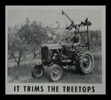 Fruit Tree Trimmer Topper How-To build PLANS PTO drive - Scrap built