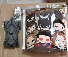 Batman vs Superman Movie BVS DC Comics Batmobile Figural Keychain Keyring NEW