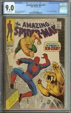 AMAZING SPIDER-MAN #57 CGC 9.0 OW PAGES