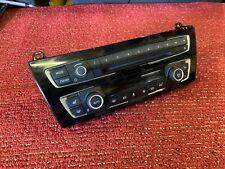 BMW F30 F32 F36 F22 AC HEAT CLIMATE CD PLAYER RADIO CONTROL PANEL SWITCH OEM 33K