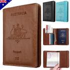Travel Passport ID Card Wallet Holder Cover RFID Blocking Leather Purse Case AU