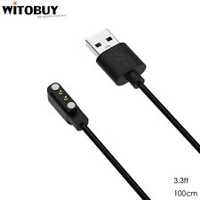 Magnetic USB Charging Cable for YAMAY SW023 Willful SW021 Letsfit ID205L 100cm