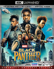 BLACK PANTHER  (4K ULTRA HD ) - Blu Ray -Region free