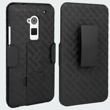 OEM Holster HTC One Max 6600 Case 3-in-1 Combo Includes Protective Case and Belt
