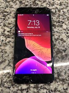 Apple iPhone 7 Plus - 32GB - Black (Sprint) A1661 (CDMA + GSM) Clean ESN