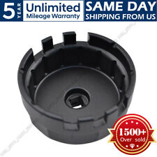 14 Flutes Oil Filter Wrench Cap Housing Tool for Toyota Corolla,Rav4,Camry 4 cyl
