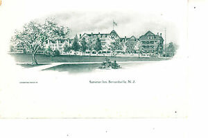 Bernardsville, NJ  Somerset Inn Hotel  @ 1906