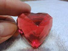 Swarovski Crystal Heart in Red - Beautiful - Retired